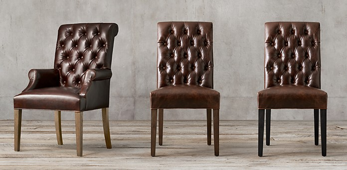 Leather Chair Collections | RH