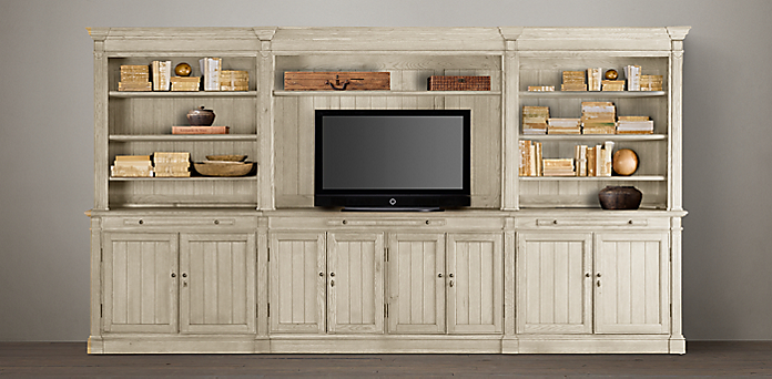 modern quad home bdi width adjustable in by innovative full with tv the products nora center white entertainment media component gloss cabinet