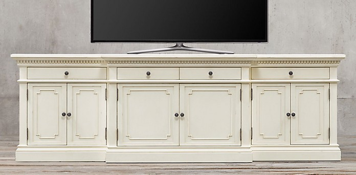 eur white media p jr cabinet john credenza by ghost richard