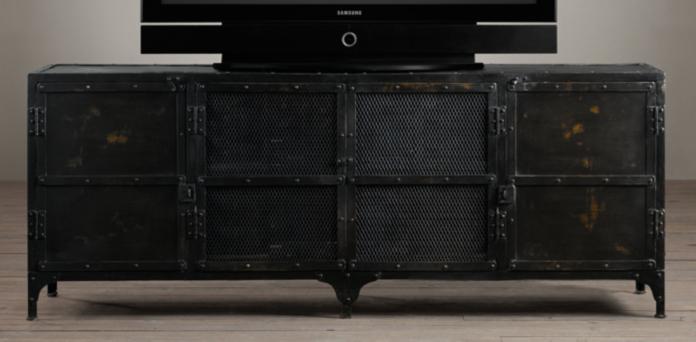 Beautiful Restoration Hardware Media Cabinet