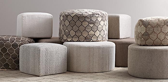 Enjoyable Poufs Rh Pdpeps Interior Chair Design Pdpepsorg