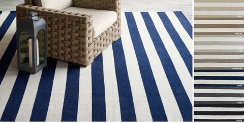 Perennials® Bold Stripe Outdoor Rug Collection