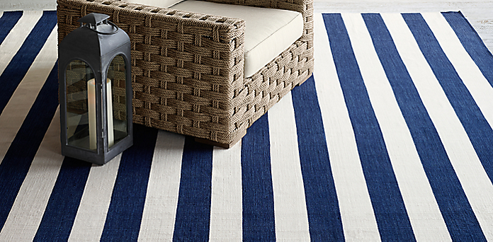 Bold Stripe Outdoor Rug Collection