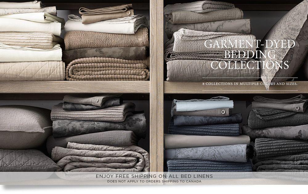 Garment Dyed Bedding