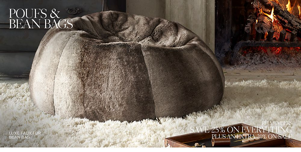 Poufs and Bean Bags