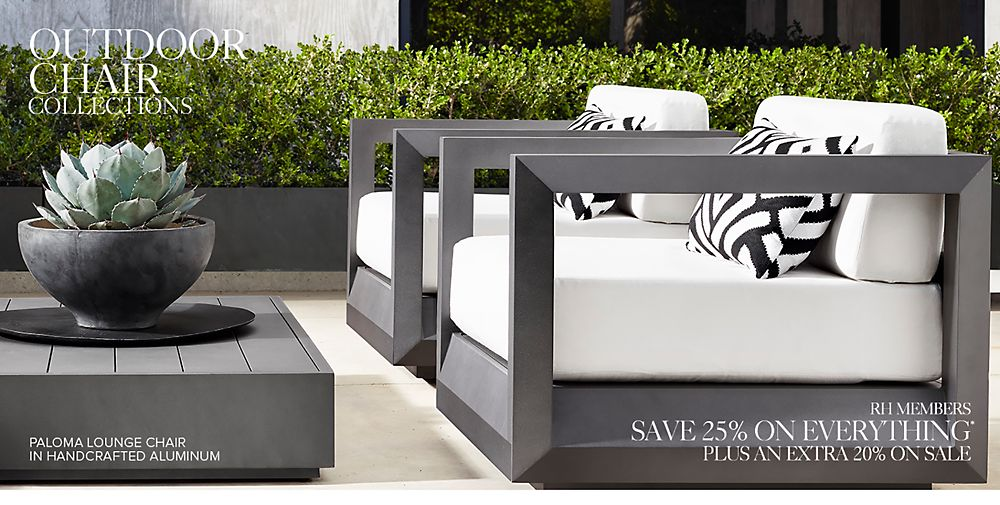 Shop Our Outdoor Chair Collections