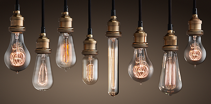 Lightbulbs : Restoration Hardware