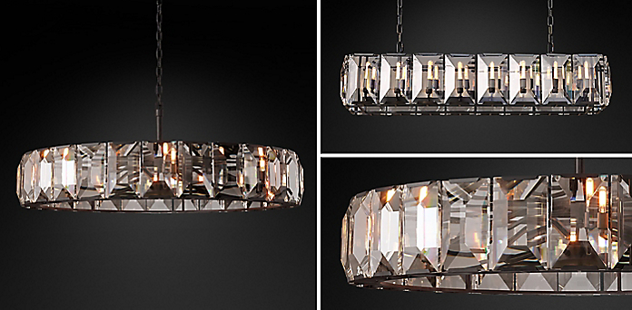 Crystal Chandeliers | RH