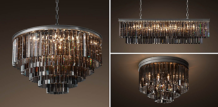 1920s odeon glass fringe chandelier collection rh mozeypictures Gallery