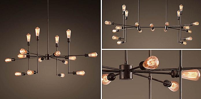 Restoration hardware chandeliers chandelier ideas varick chandelier collection rh aloadofball Images