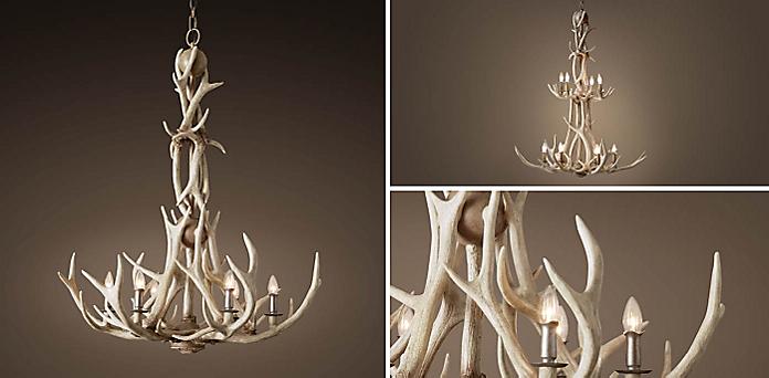 Adirondack antler chandelier collection rh resources aloadofball Images