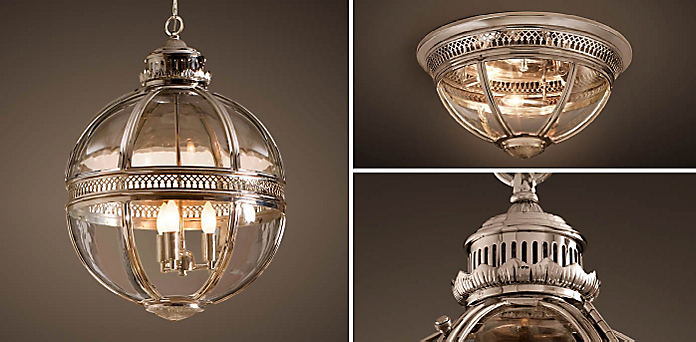 Victorian Hotel Collection - Kitchen & Utility Pendants RH
