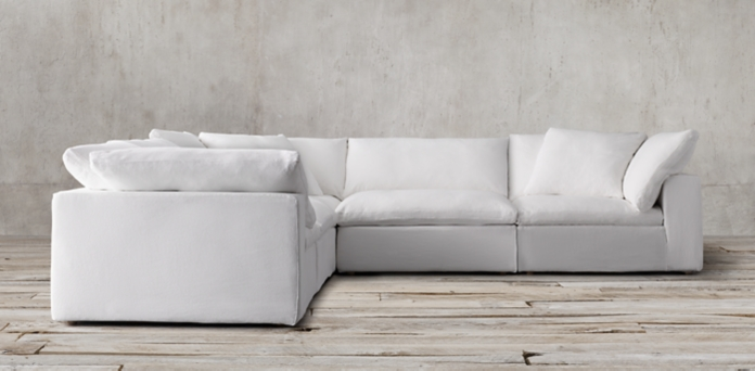 Restoration Hardware Knock Off Sofa Rooms