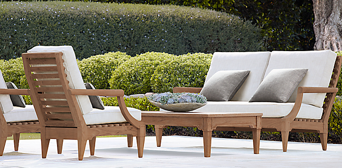 Devon Natural Teak Outdoor Furniture Cg Rh