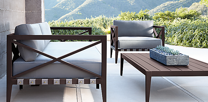 Mustique Bronze Outdoor Furniture Cg Rh