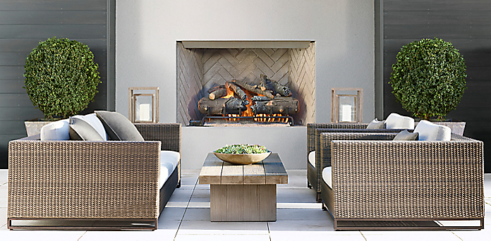 Restoration hardware patio set design decoration for Restoration hardware furniture quality