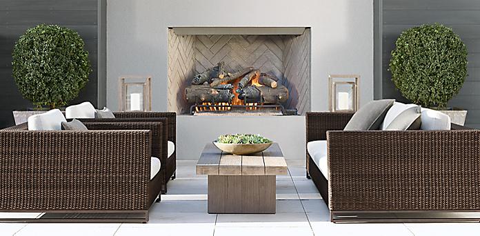 Astounding Tiburon Collection Brown Rh Download Free Architecture Designs Scobabritishbridgeorg