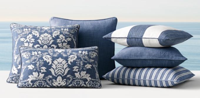 perennials amalfi pillow collection