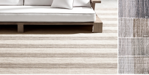Stripe Outdoor Rug Collection