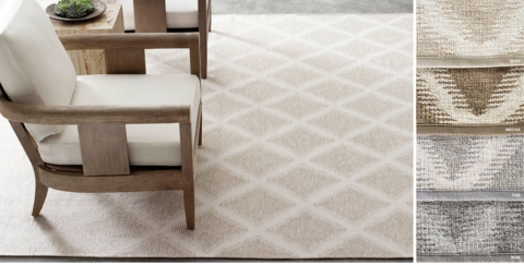 Marvelous Diamond Outdoor Rug Collection