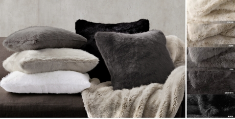 Fur Pillow Collection Free Shipping