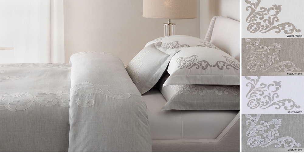 Bedroom Sets Restoration Hardware bed linen collections | rh