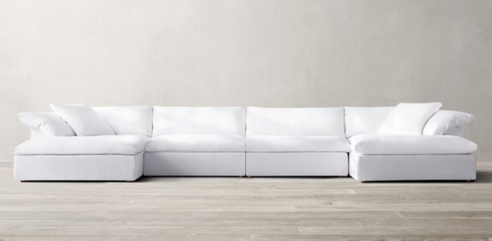 The Cloud Sofa 71 Off Restoration Hardware The Cloud White