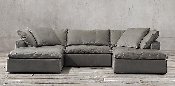 The Cloud Sofa Cloud Modular Fabric Customizable Sectional