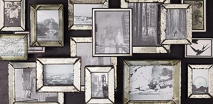 mirrored frame collection - Mirrored Picture Frame