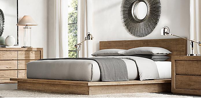 bedroom collections. Reclaimed Russian Oak Collection Bedroom Collections  RH