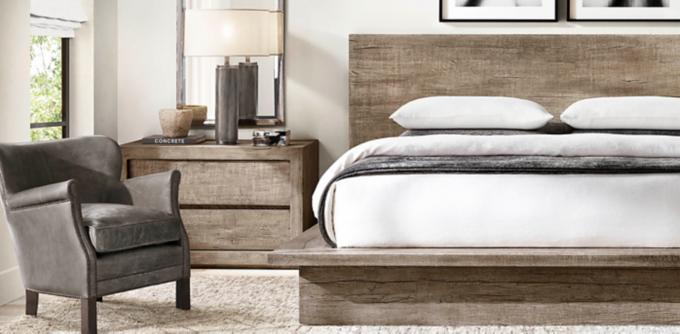Reclaimed Russian Oak Collection. Queen Beds Starting At $4495 Regular /  $3371 Member