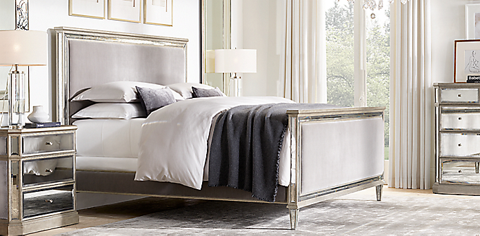 Bedroom Sets Restoration Hardware bedroom collections | rh
