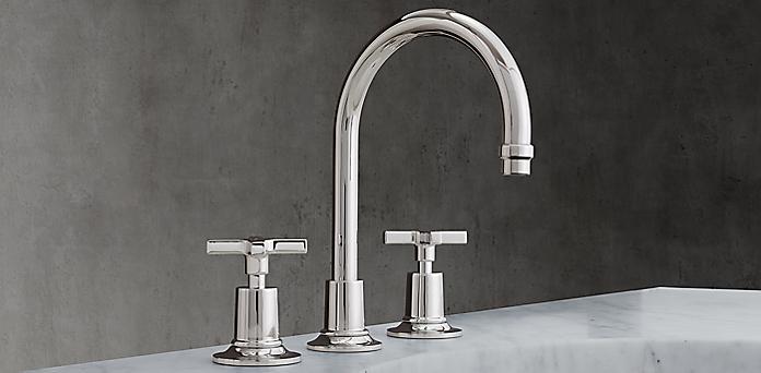 Bathroom Faucets Restoration Hardware faucets, fittings & hardwarelefroy brooks | rh