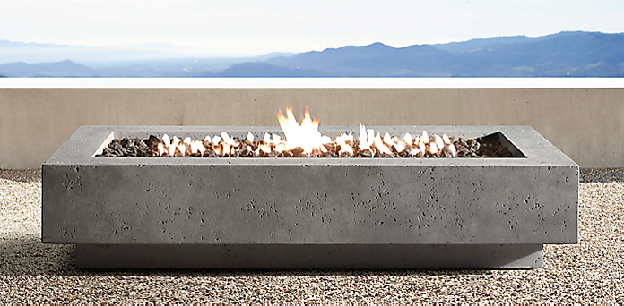 Outdoor Gas Fireplace Table