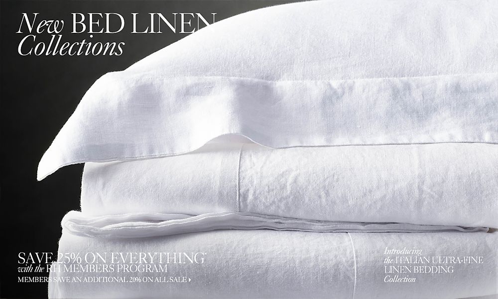 New Bed Linens