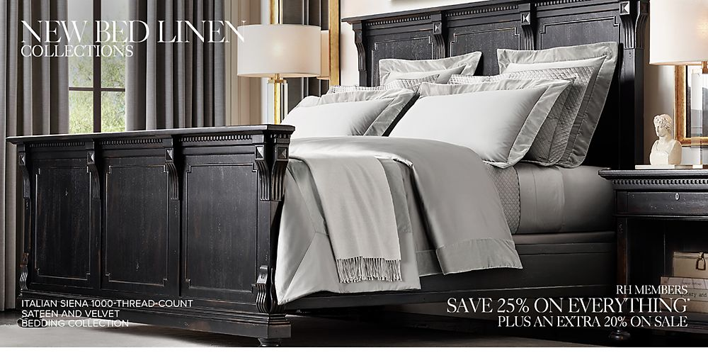 Shop New Bed Linen Collections