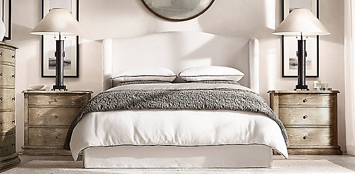 Fabric Bed Collections | RH