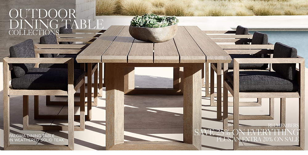 Shop Outdoor Dining Table Collections