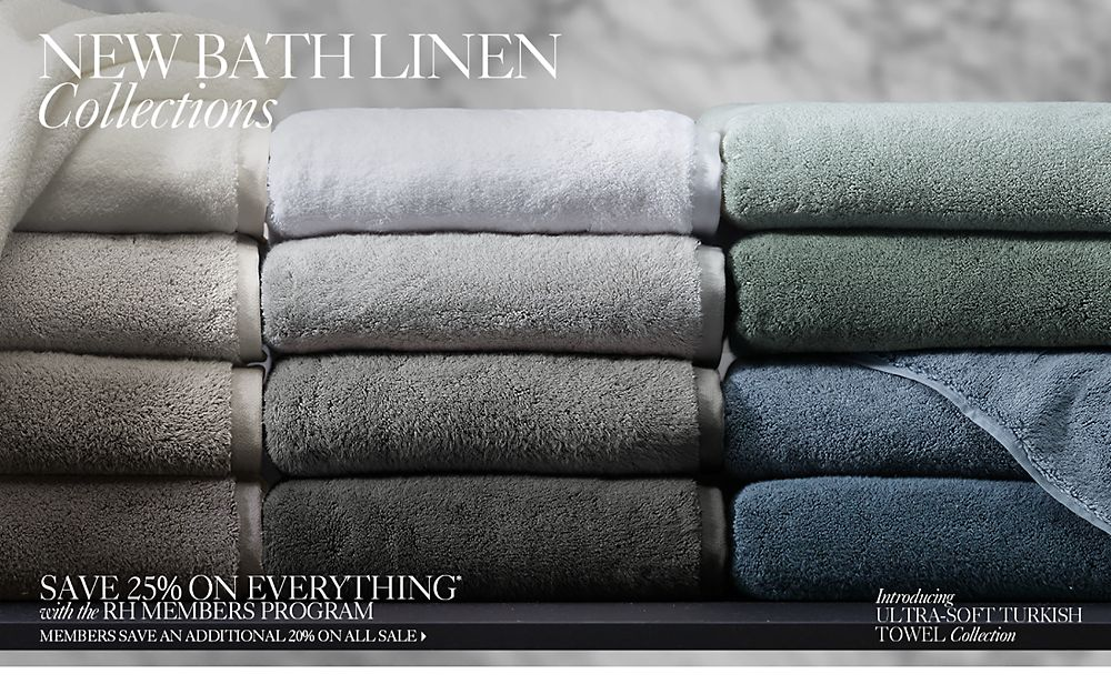 new bath linens