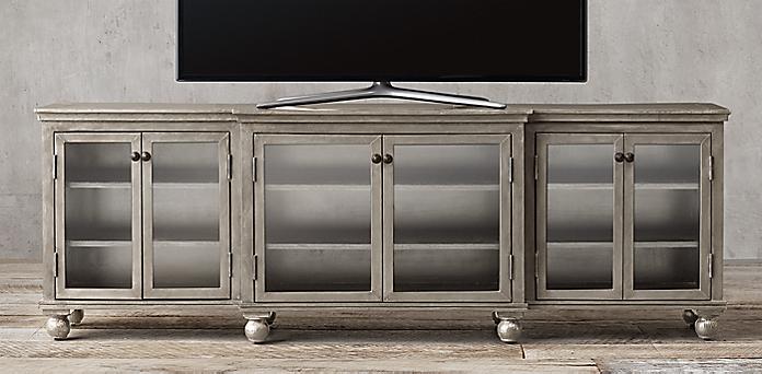 Beautiful Metal Media Storage Cabinet