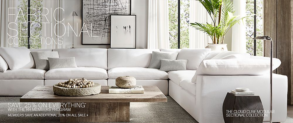 Sectional Collections | RH Modern