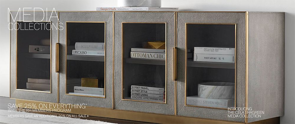 Media Collections Rh Modern