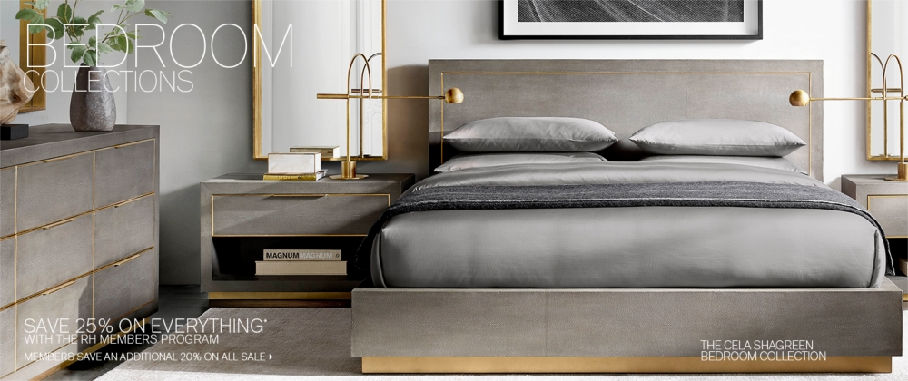 Bedroom Collections Rh Modern