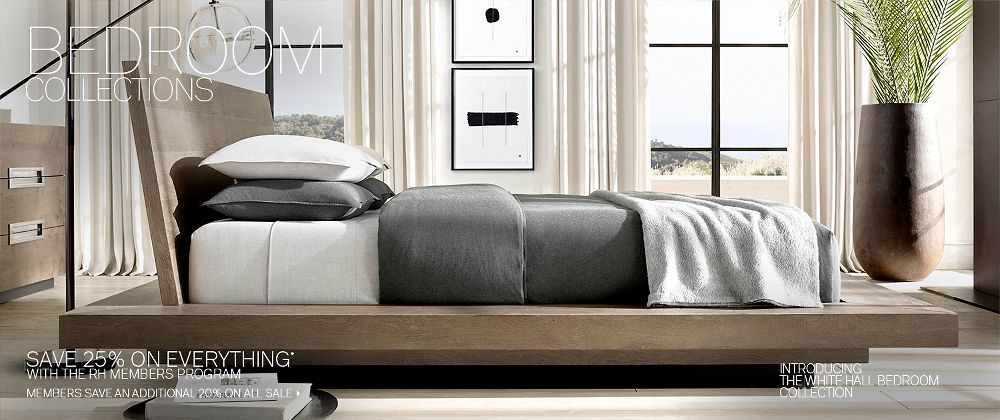 Bedroom Collections | RH Modern