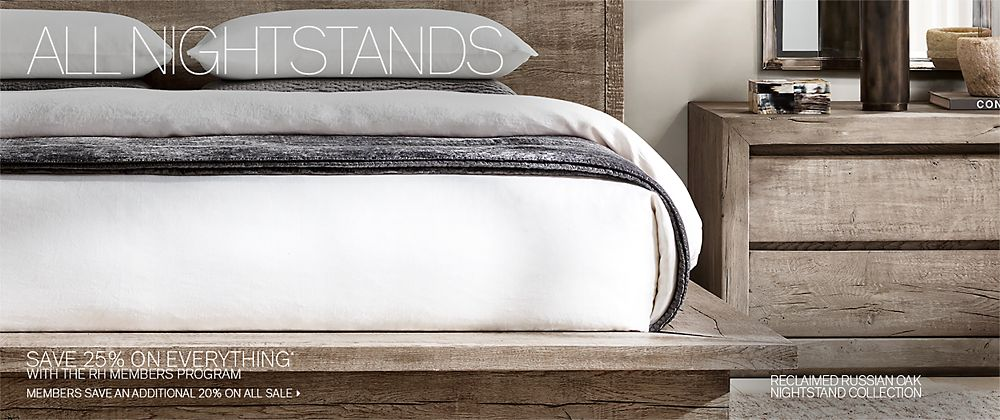 All Nightstands | RH Modern
