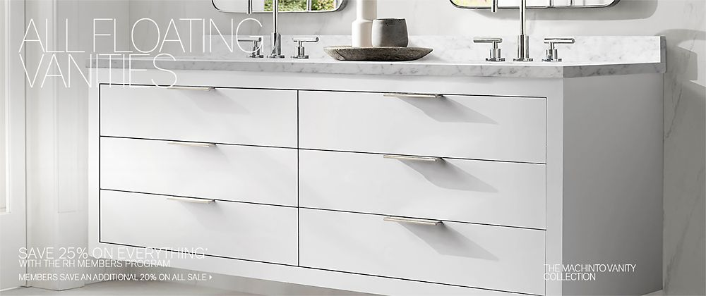 Floating Vanities Rh Modern