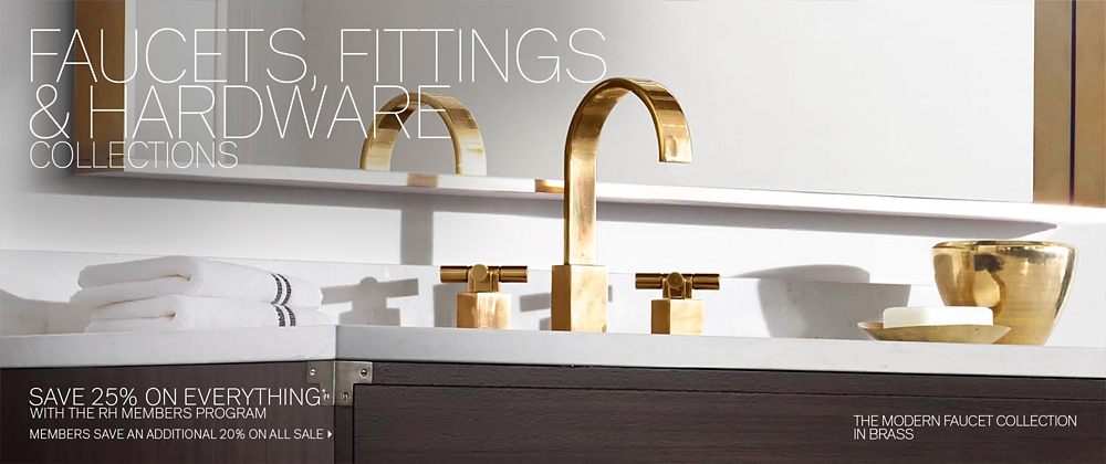 Faucets Fittings Hardware Collections Rh Modern
