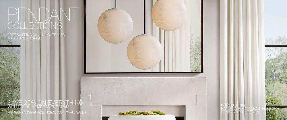 Pendant Collections | RH Modern
