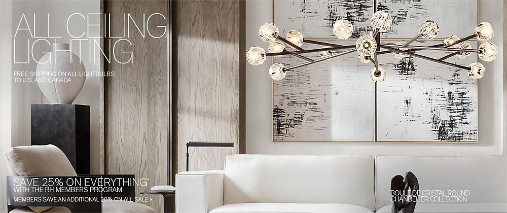 All Ceiling Lighting Rh Modern