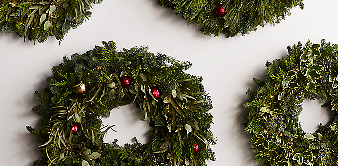 fresh cut wreaths and garland collection rh